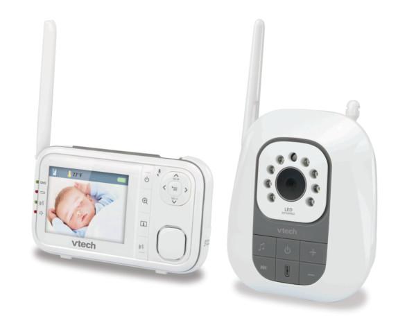 Vtech Cyfrowa Niania Elektroniczna Z Kamerką Monitor DECT BM3200